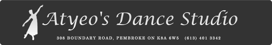 Dance Studio in Pembroke - Atyeo's Dance Studio Logo
